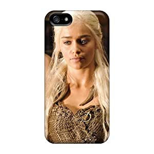 Anti-scratch And Shatterproof Emilia Clarke In Game Of Thrones Phone Case For Iphone 6 plus/ High Quality Tpu Case