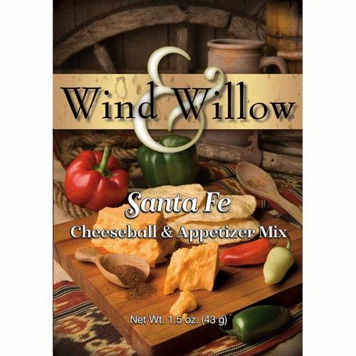 Cheeseball Willow - Wind and Willow Old Santa Fe Cheeseball Mix - 1.5 Ounce (4 Pack)