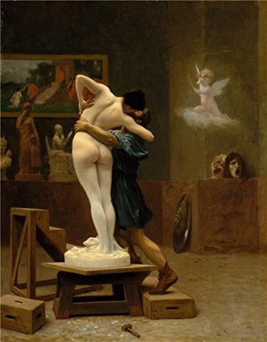 Oil Painting 'Jean-Leon Gerome-Pygmalion And Galatea,1890' Printing On High Quality Polyster Canvas , 12x15 Inch / 30x39 Cm ,the Best Gym Decor And Home Decoration And Gifts Is This Beautiful Art Decorative Canvas Prints