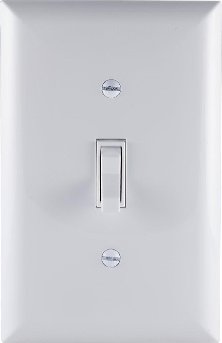 GE 54172 15A 120V 3 Way Household Toggle Switch, White - - Amazon.com