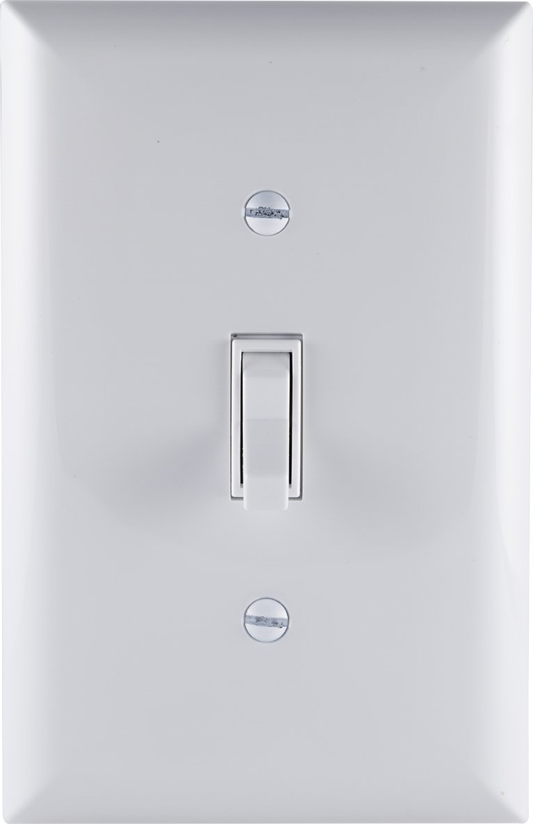 GE Grounding Toggle Switch, 3-Way, In Wall On/Off Fan & Light Switch ...