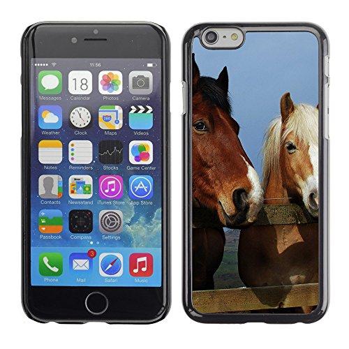"Premio Sottile Slim Cassa Custodia Case Cover Shell // V00003426 cheval 11 // Apple iPhone 6 6S 6G PLUS 5.5"""