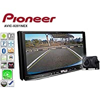 Volunteer Audio Pioneer AVIC-8201NEX Car Stereo Double Din Radio CD Player with Back up Camera GPS Navigation Apple CarPlay Andoid Auto