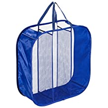 Green Earth Bags Geb Ultimate 3 Section Pop Up Laundry Hampers- Navy Blue