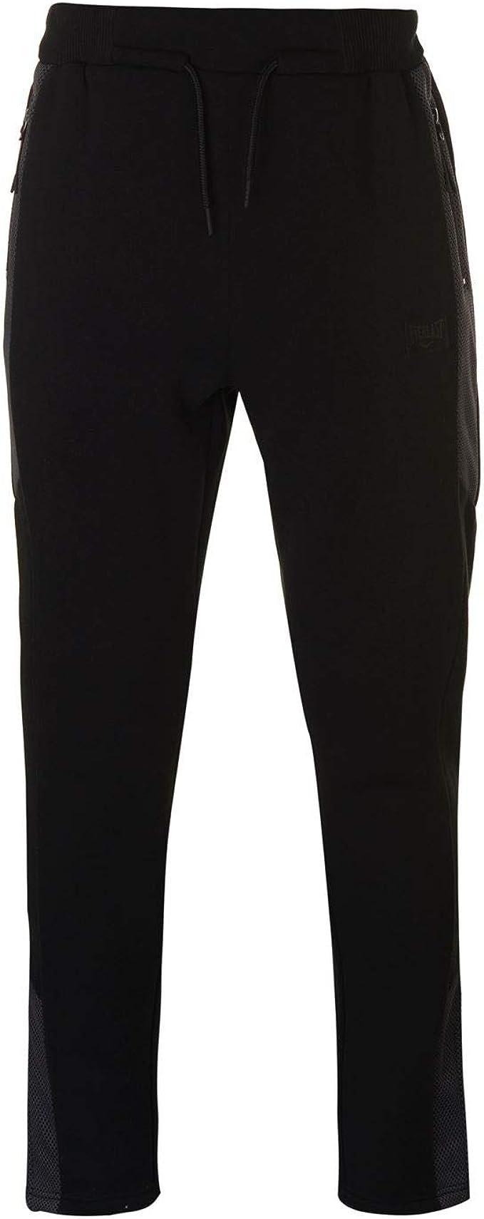 Everlast Pantalon De Jogging En Jersey Imprimé Femme Noir