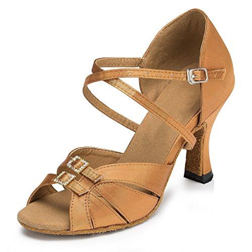 Miyoopark - salón mujer Brown-8cm heel