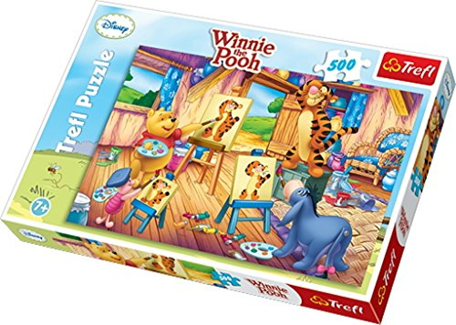 Puzzle - Winnie the Pooh - Portrait of Tigger - 500 elements