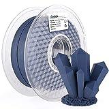 AMOLEN 3D Printer Filament,PLA Filament 1.75mm,Navy Blue Matte Filament,3D Printing Filament +/- 0.03mm,1kg/2.2lbs