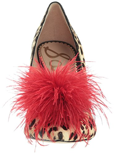 Sam Edelman Women's Haide Pump Sand Leopard cheap sale purchase pYoB1FN
