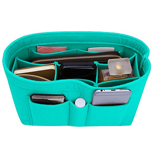 Felt Insert Bag Organizer Bag In Bag For Handbag Purse Organizer, Six Color Three Size Medium Large X-Large (X-Large, Tiffany -