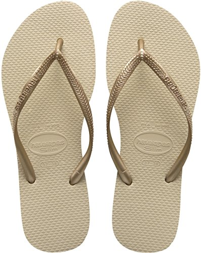 Havaianas Flip Flops Women Slim Brown (Rose Gold) CVjGtw2zF