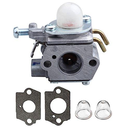 Homelite Carburetor (Hilom 308054001 Carburetor with Gasket Primer Bulb For Homelite 26cc UT-085580 UT-08981 Blower UT-50500 UT-50901 Edger 308054001 Trimmer)