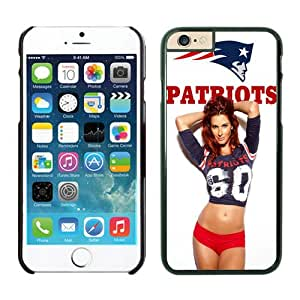 New England Patriots Case For iPhone 6 Black 4.7 inches
