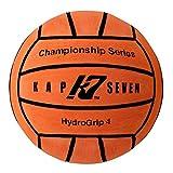 KAP7 Size 4 HydroGrip Water Polo Ball (Neon Orange)