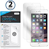Apple iPhone 7 Plus Screen Protector, BoxWave [ClearTouch Crystal (2-Pack)] HD Film Skin - Shields From Scratches for Apple iPhone 7 Plus