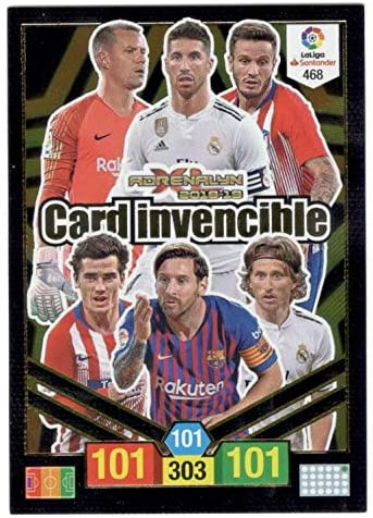 Panini Card Invencible Balón de Oro Adrenalyn XL 2018 2019 Messi ...