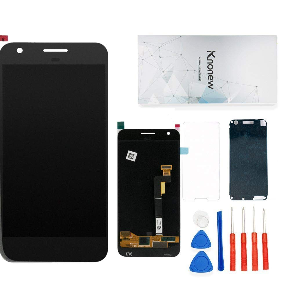 Screen Replacement Compatible for Google Pixel 5.0'' Glass LCD Display Touch Digitizer Assembly + Tools