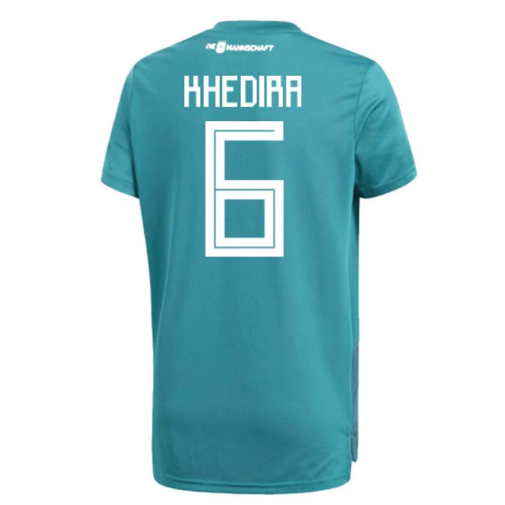 2018-19 Germany Away Training Football Soccer T-Shirt Trikot (Sami Khedira 6)