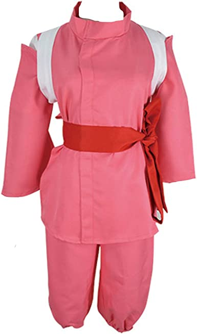 Amazon Com Dunhao Cos Anime Spirited Away Chihiro Kimono Cosplay Halloween Cosplay Costume Clothing