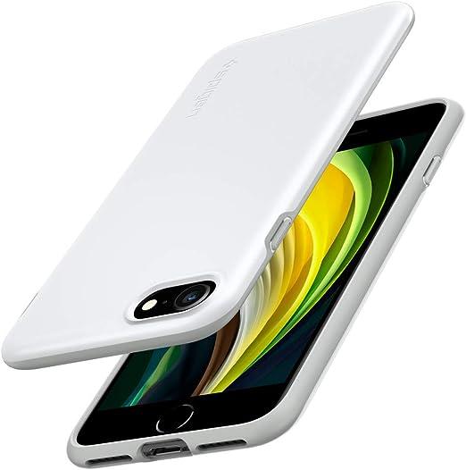 Spigen Thin Fit Pro Hülle Kompatibel Mit Iphone Se Elektronik