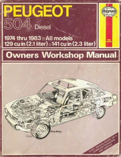 Download Peugeot 504 Diesel  Owners Workshop Manual