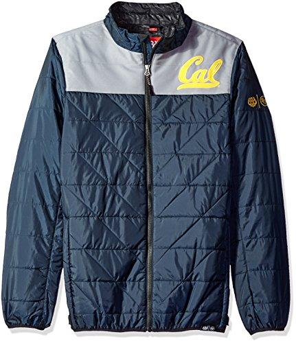 Cal Golden Bears Mens Jacket (686x47 NCAA California Golden Bears Men's Flight Insulated Jacket, X-Large, Cal Blue)