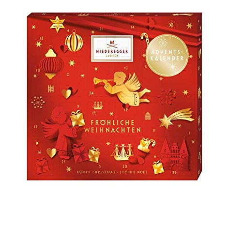 Niederegger Red Glamour Mini Advent Calendar