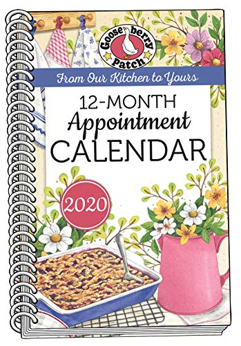 2020 Gooseberry Patch Appointment Calendar (Everyday Cookbook Collection) by Gooseberry Patch