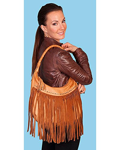 Scully Soft Leather Fringe Hobo ()