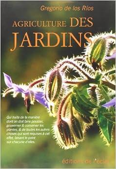 Book Agriculture des jardins