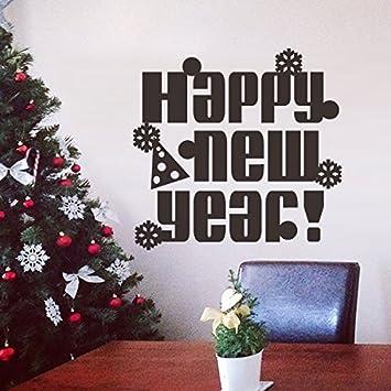 Sch?n Frohe Weihnachten Neues Jahr Wand-Aufkleber-Vinyl Aufkleber f ...