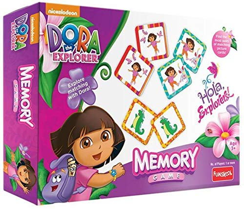 Game Explorer The Dora Board (Funskool Dora The Explorer Memory Game Board Game Worldwide)