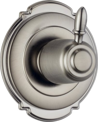 (Delta T11855-SS Victorian 3 Setting Diverter Trim, Stainless)