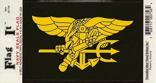 Navy Seals Decal - Navy Seals Seal decal for auto, truck or boat