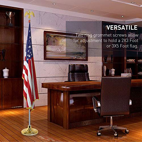 EasyGoProducts EGP-POLE-006 3' X 5' American w/Indoor Pole Kit-with Flag by EasyGoProducts (Image #3)