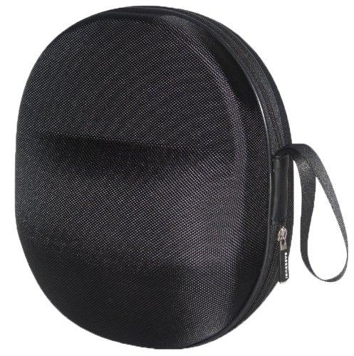 XXL CASEBUDi Hard Headphone Case | Impact Protection for Beyerdynamic, Audio Technica, Sony, Sennheiser, Aviation, David Clark, AKG & More | Black Ballistic Nylon