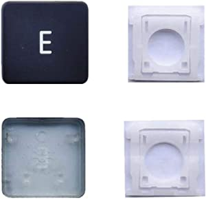 Replacement Individual AP11 Type E Key Cap and Hinges are Applicable for MacBook Pro A1425 A1502 A1398 for MacBook Air A1369/A1466 A1370/A1465 Keyboard to Replace The E Key Cap and Hinge