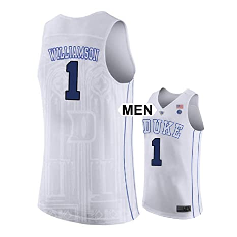ddcf6214b2b Image Unavailable. Image not available for. Color: NCFans 2018 Duke Blue  Devils Williamson NO 1 Mens College Basketball Jersey ...