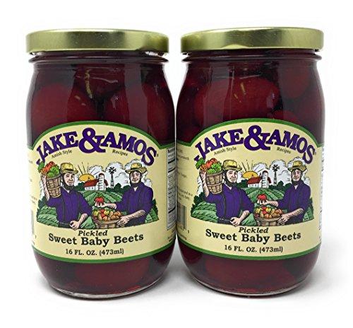 Cheap Jake & Amos – Pickled Sweet Tiny Baby Beets / 2 – 16 Oz. Jars