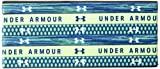 Under Armour Girls' Graphic Headbands - 6 Pack, Moroccan Blue (487)/White, One Size Fits All