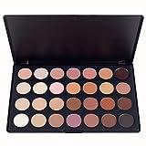 neutral color palette Youngman Professional 28 Color Neutral Warm Eyeshadow Palette Eye Shadow Makeup Cosmetics