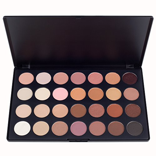 Youngman Professional 28 Color Neutral Warm Eyeshadow Palette Eye Shadow Makeup Cosmetics