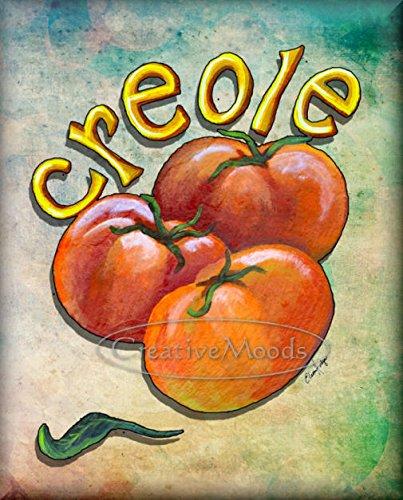 8 x 10 Decorative Tile Creole Tomatoes