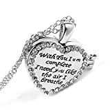 KassarinShop Heart Shaped Friend Photo Picture Frame Locket Pendant for Necklace Fashion