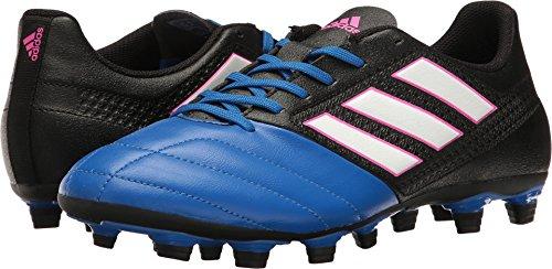 Adidas Mens Shoes   Ace 17 4 Fxg Soccer  Black White Satellite   13 M Us