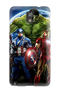 Galaxy Note 3 Case Bumper Tpu Skin Cover For The Avengers 109 Accessories 9111402K42921486