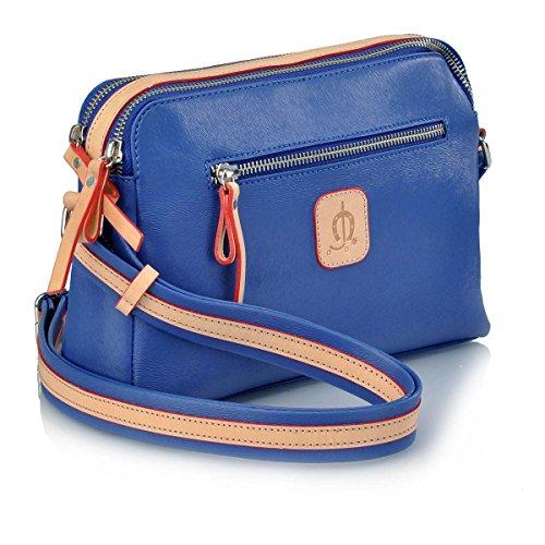 unica azulon au dos main Sac 653 CABALLO à femme 1016 talla Bleu EL porté pour 7Hp6wq00