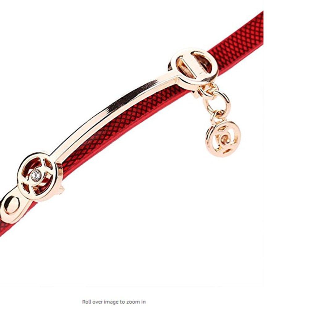 Clearance!Toosvan Women Watch on Sale Leather Metal Strap Analog Quartz Wrist Watch Gift by Waroomvan Watch (Image #4)