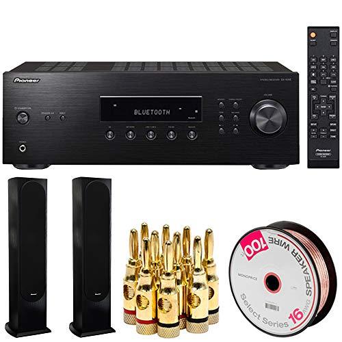 Pioneer Bluetooth Audio Component Receiver Black  w/Speakers