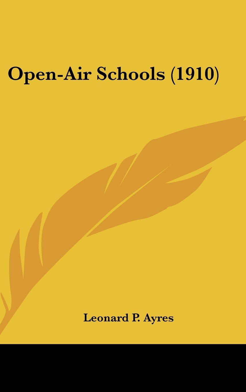 Open-Air Schools (1910) pdf epub